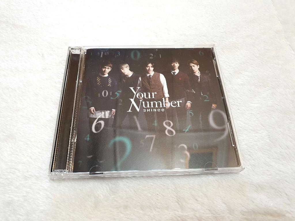 [Preloved] SHINee - Your Number [Limited Edition Maxi Single, CD + DVD]
