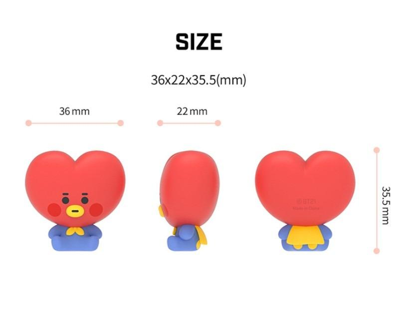 [PREORDER] OFFICIAL ROYCHE BTS BT21 BABY MONITOR FIGURE