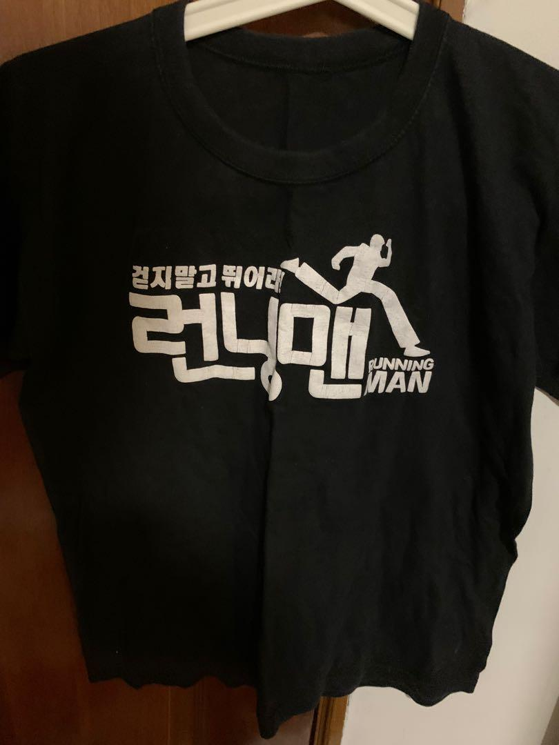 Running Man Korea T Shirt Women S Fashion Clothes Tops On Carousell
