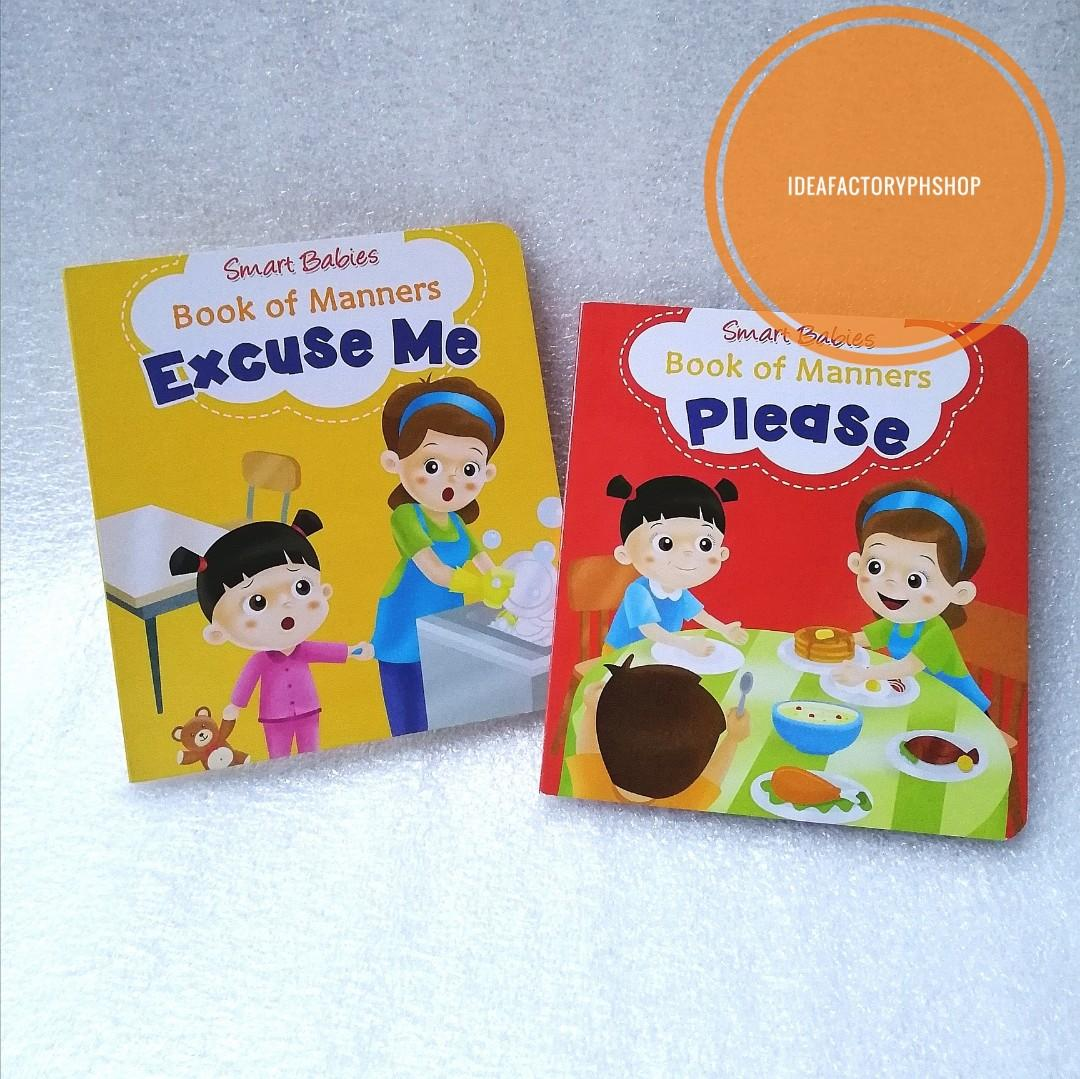 Smart Babies Book of Manners Values Book Excuse Me Please Thank You I'm Sorry