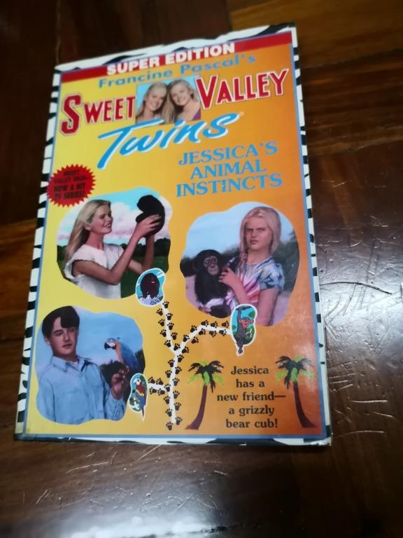 Sweet Valley Twins (Super Edition)Jessica's Animal Instinct (#7)