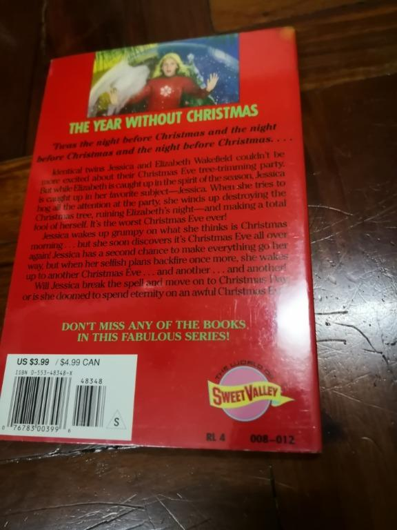 Sweet Valley Twins (Super Edition)	The Year Without Christmas (#10)