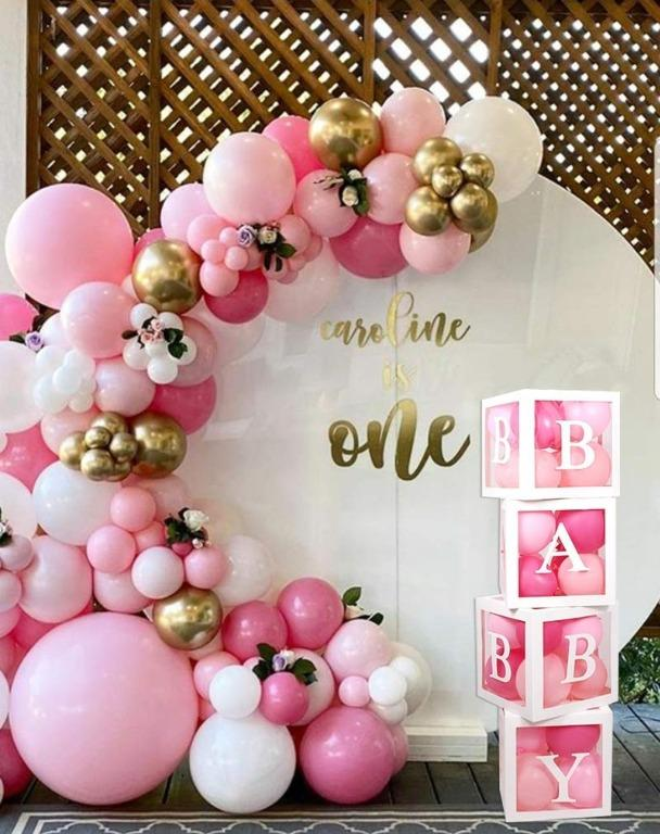 Valentines Party Baby Shower Decorations Balloon Box Baby 1st Birthday Decorations Girls Birthday Party Valentines Party Entertainment Events Concerts On Carousell