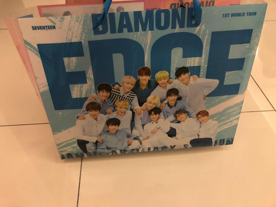 [WTS] SEVENTEEN Diamond Edge (Unofficial) Handcarry Bag