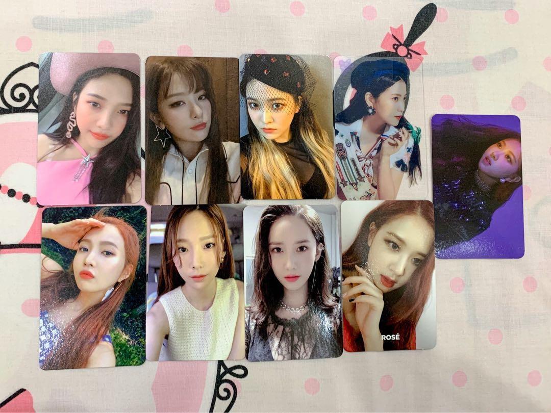 [WTT/WTS] Red Velvet, Blackpink, Snsd Oh GG pc, Tvrf day 2 album