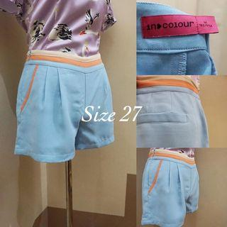 👑In - colour 💃🏻 mid- waist Shorts 💰Php 120