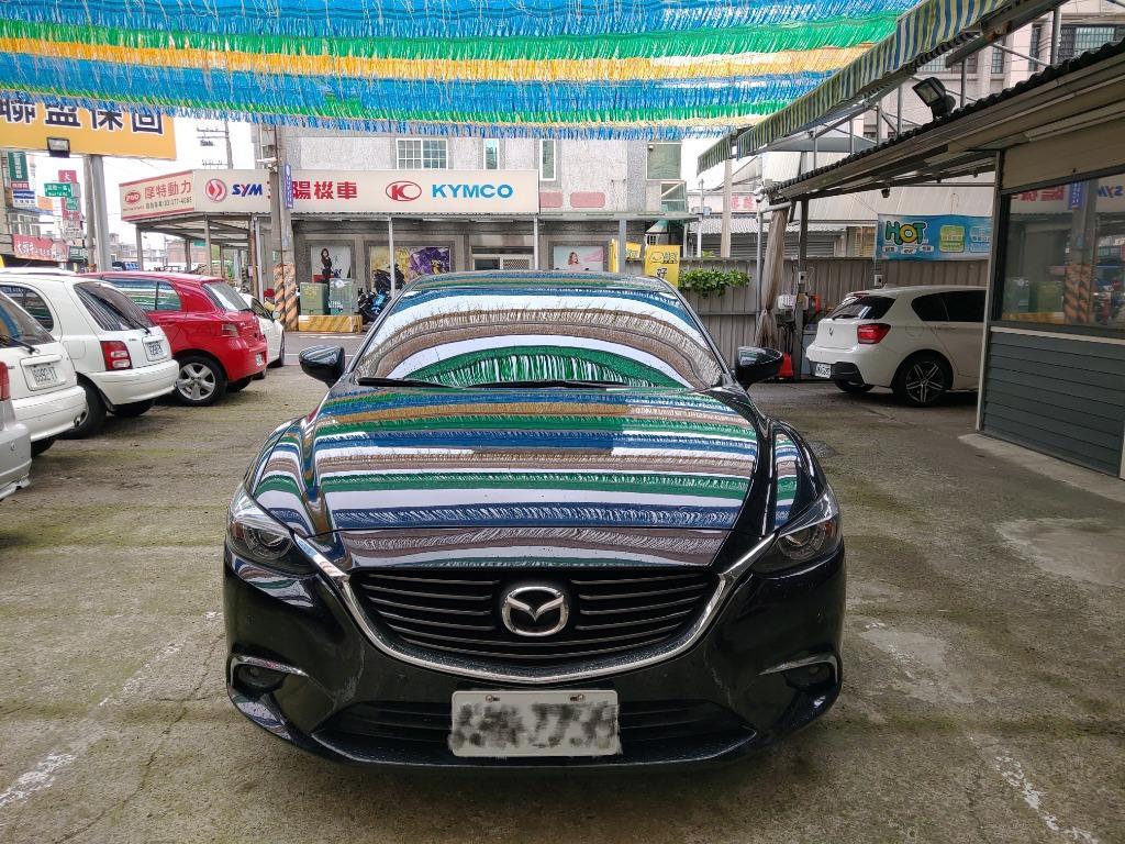 冠軍車庫【專業認證】2017年 馬6 旗艦款 黑色 2.0L