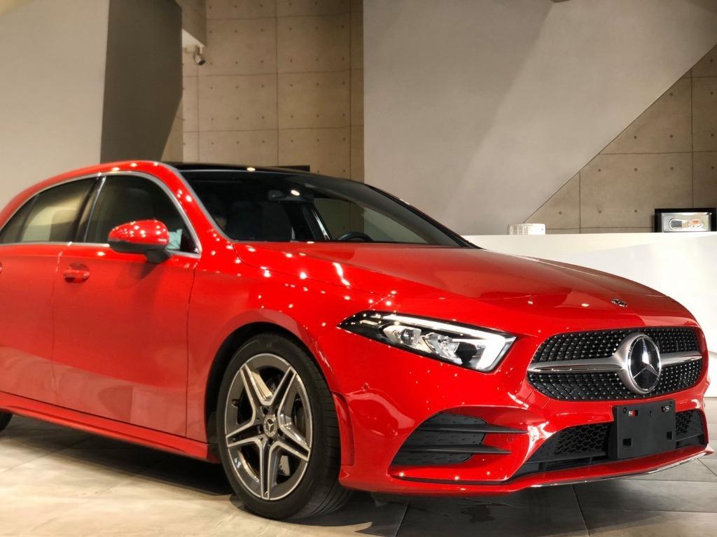 2019式 M-Benz A250 AMG 風信子紅 有喜歡價格可商議