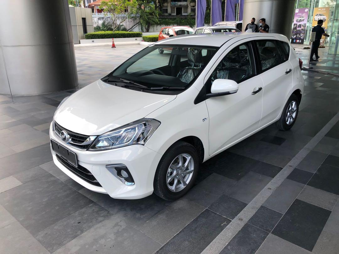 2020 Perodua Myvi 1.3 X (A) Ivory White Maximum Loan