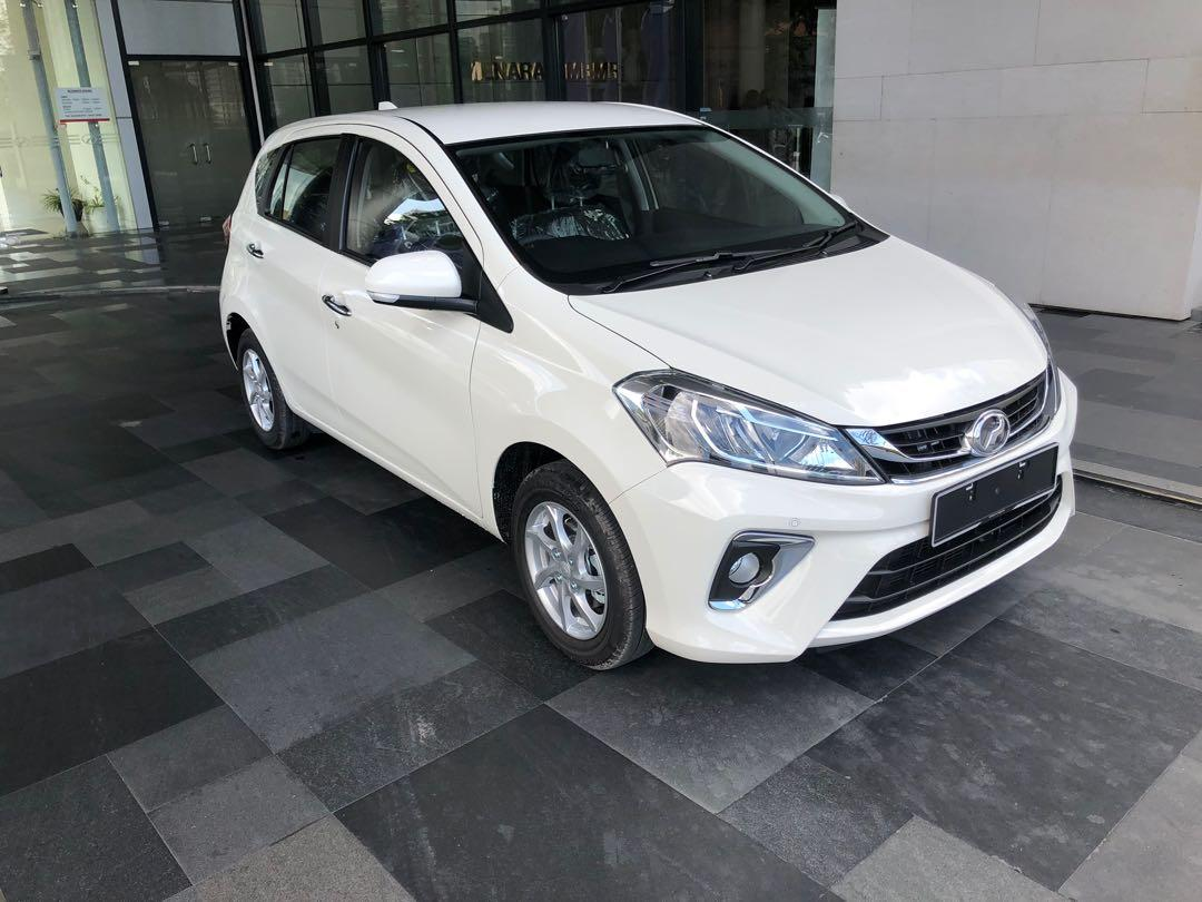 2020 Perodua Myvi 1.3 X (A) Ivory White Maximum Loan