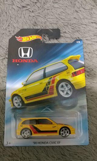 Hotwheels 90 Honda Civic EF