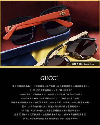 全新Gucci 眼鏡