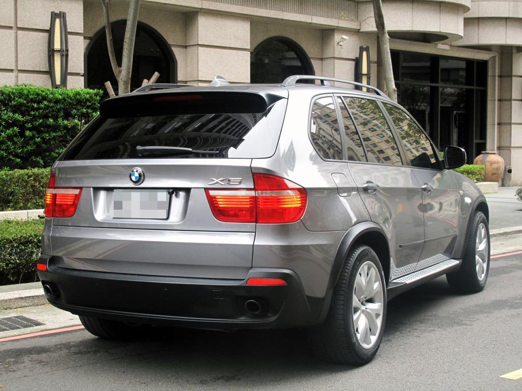 稀有7人座 一家大小出遊 一車搞定 超大全景天窗 夜遊賞星光必備 2008年 BMW X5 3.0si 黑內裝 線傳排檔 大螢幕 0980-558-999