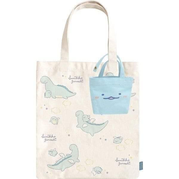 【現貨】日本版角落生物天使恐龍子母環保袋 包平郵