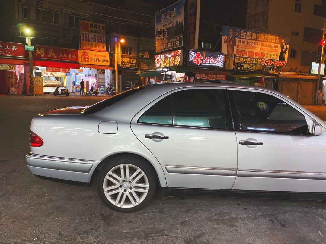 自售家裡用車 Benz E240