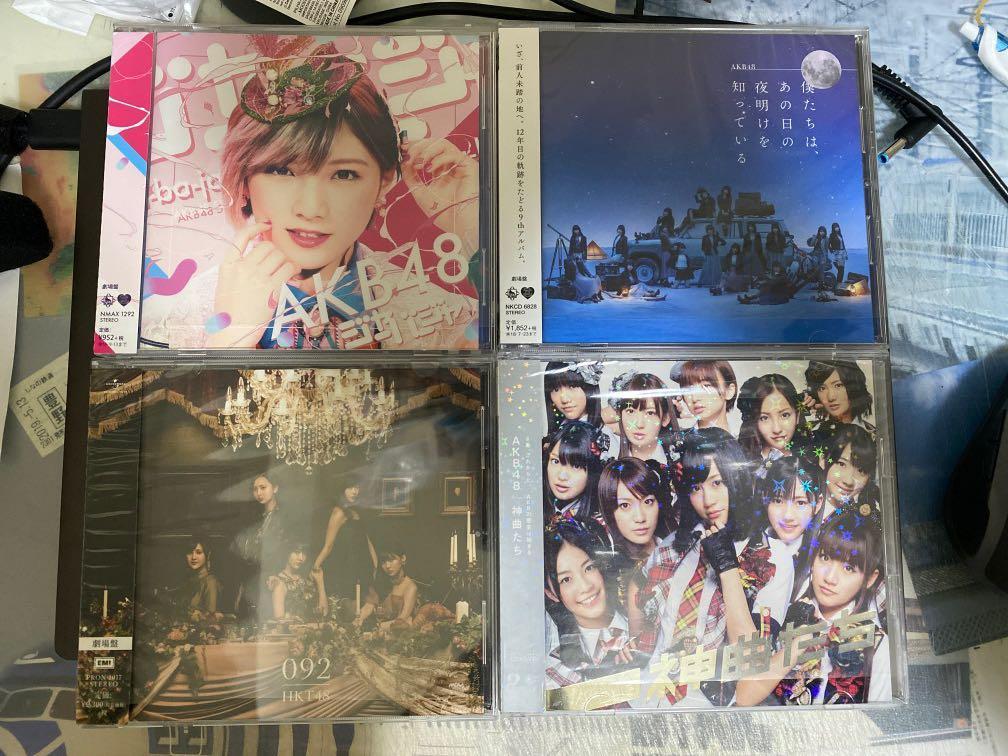 AKB48 HKT48 碟 日版