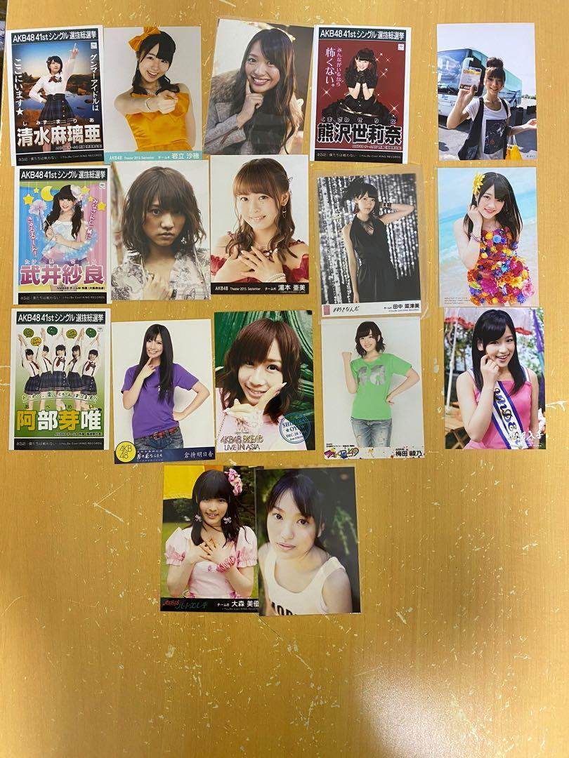 AKB48 HKT48 SKE48 NMB48 生寫