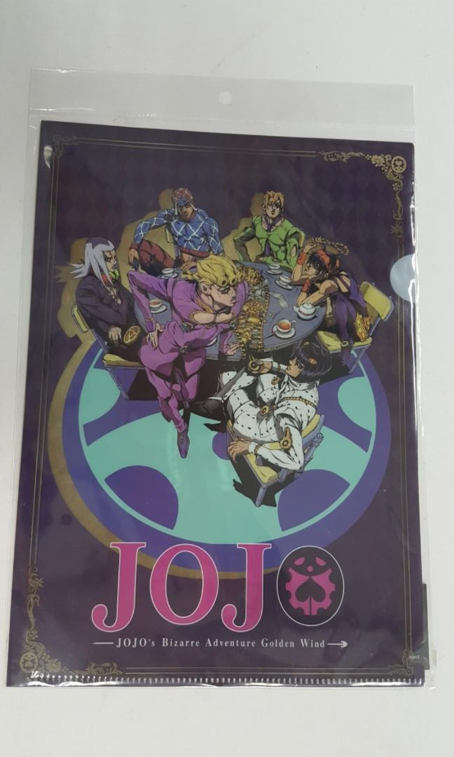 Anime file: Jojo's Bizarre Adventure part 5: Golden Wind (Bruno Bucchiarati design)