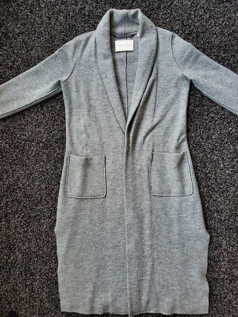 Aritzia Group by Babaton Gornick Jacket - Heather Warm Grey - Size XS