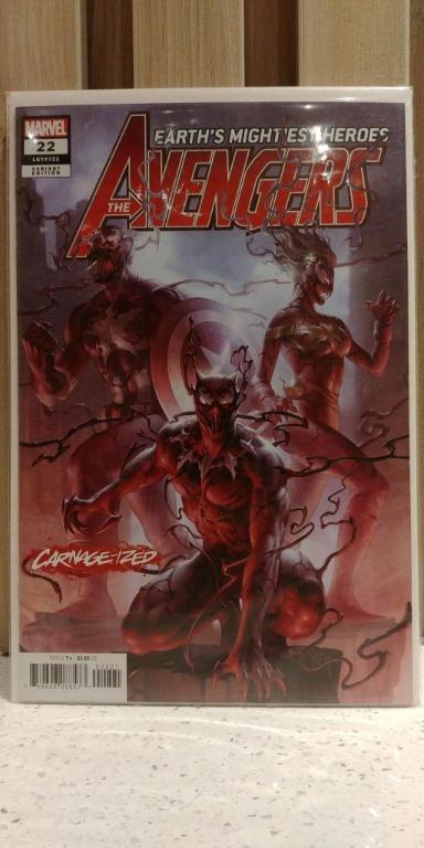 Avengers (2018 8th Series) # 22B JUNG-GEUN YOON VARIANT COVER