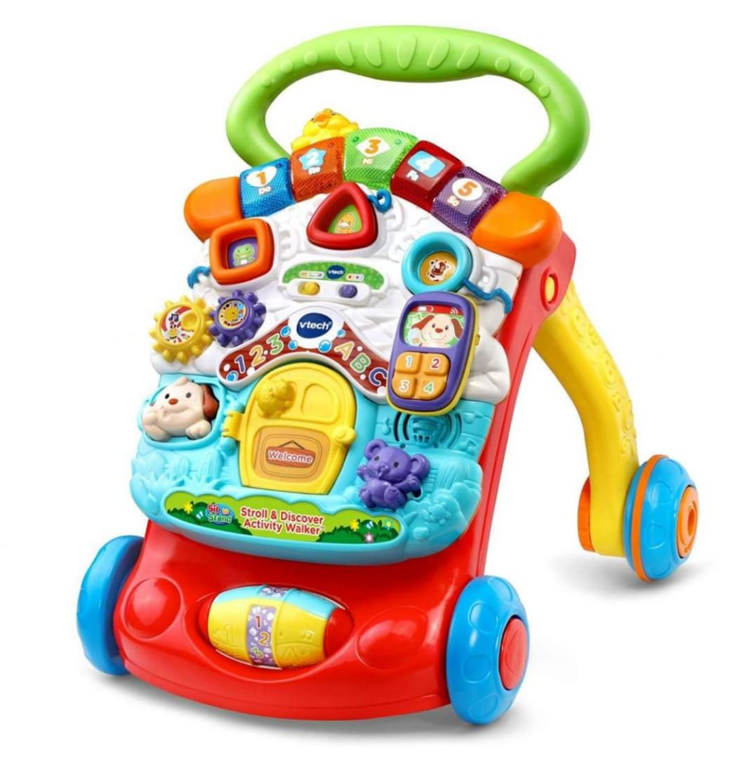 Brand New VTech Stroll & Discover Activity Walker 2-in-1: Grow with me!