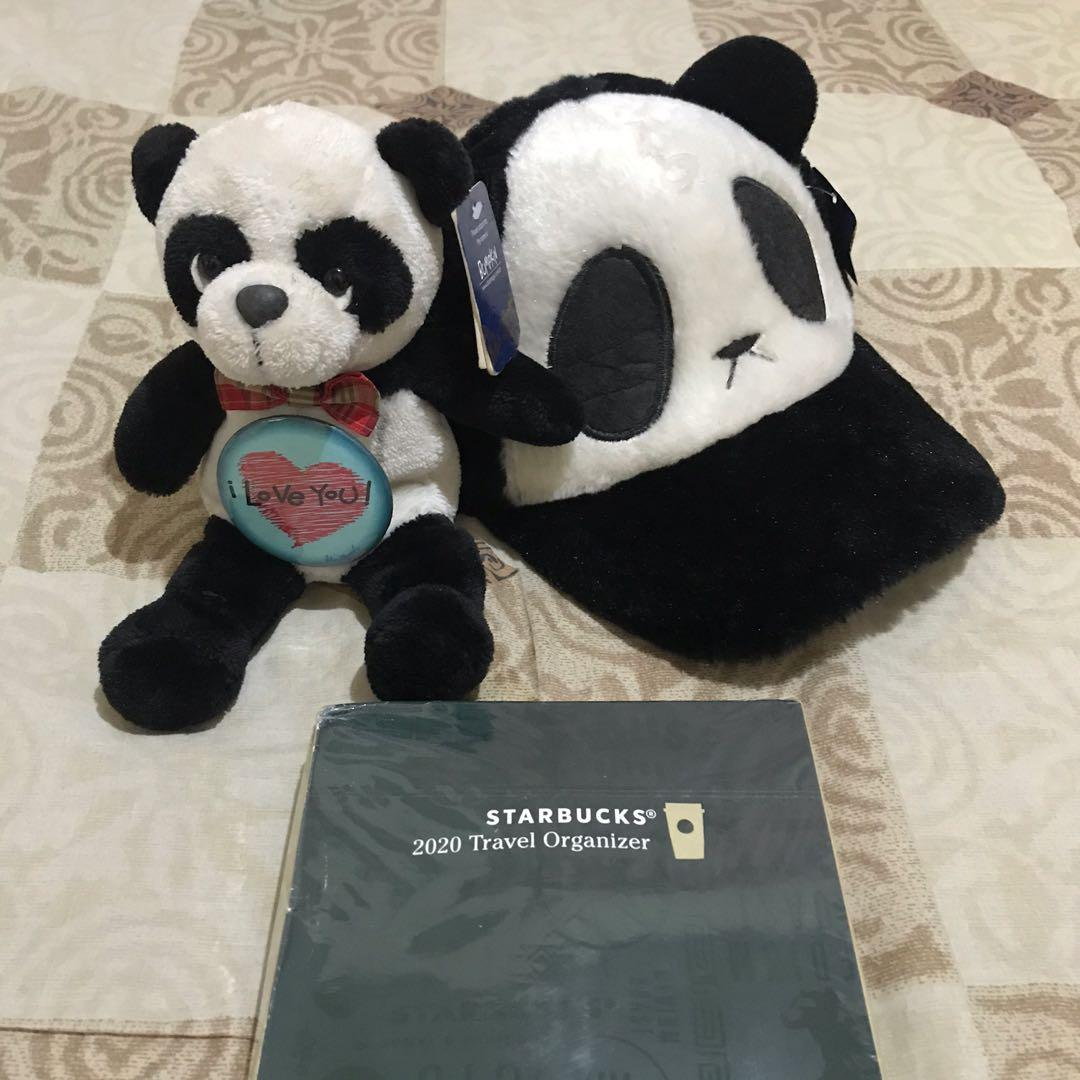 Bundle!! Valentines Gift! Starbucks Travel Organizer - Mint and Panda merchandise from Blue Magic
