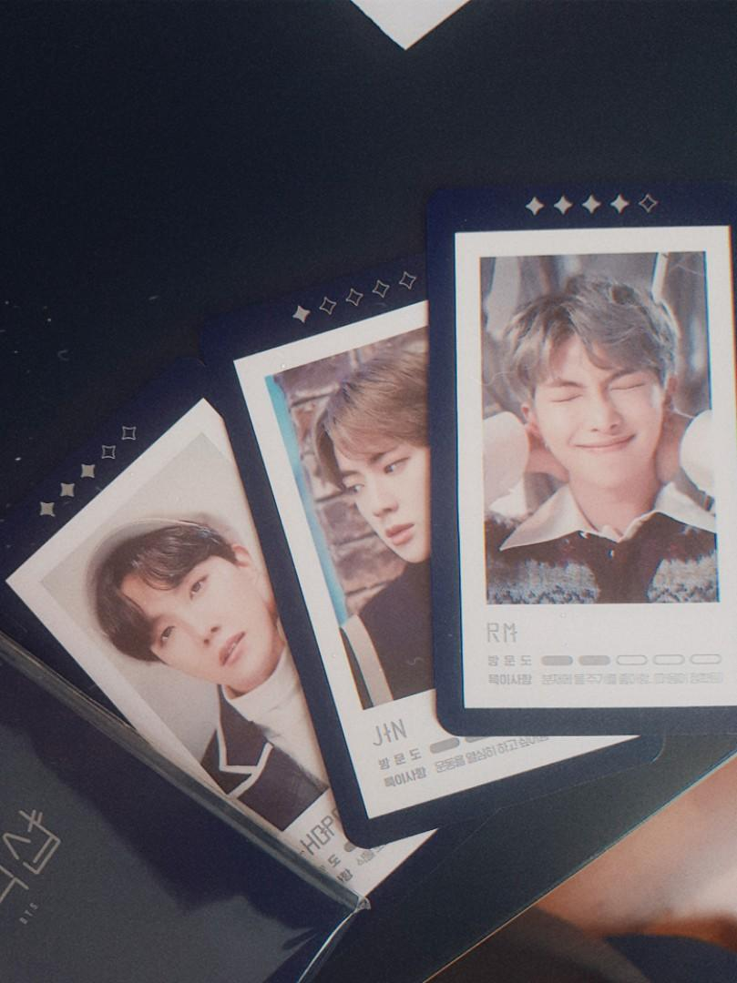 Clearance BTS Official MD - BTS 5th Muster Acrylic Stand / Guest Card , BTS Speak Yourself Premium Photo