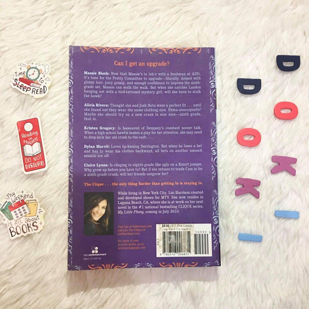 CLIQUE: These Boots are Made for Stalking (a middle-grade novel by Lisi Harrison)