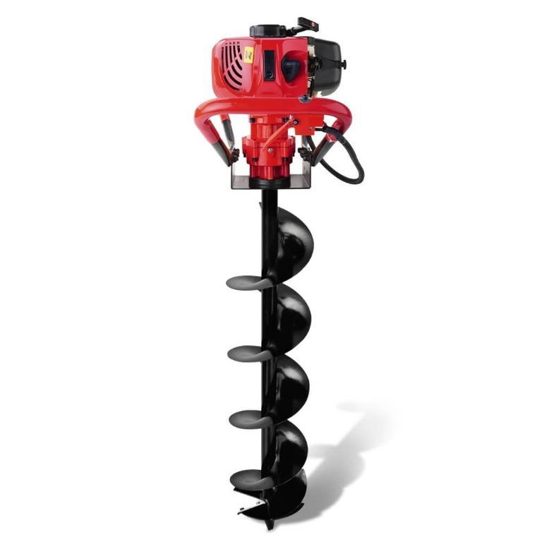 Giantz 62CC Petrol Post Hole Digger Drill Borer Fence Extension Auger Bits