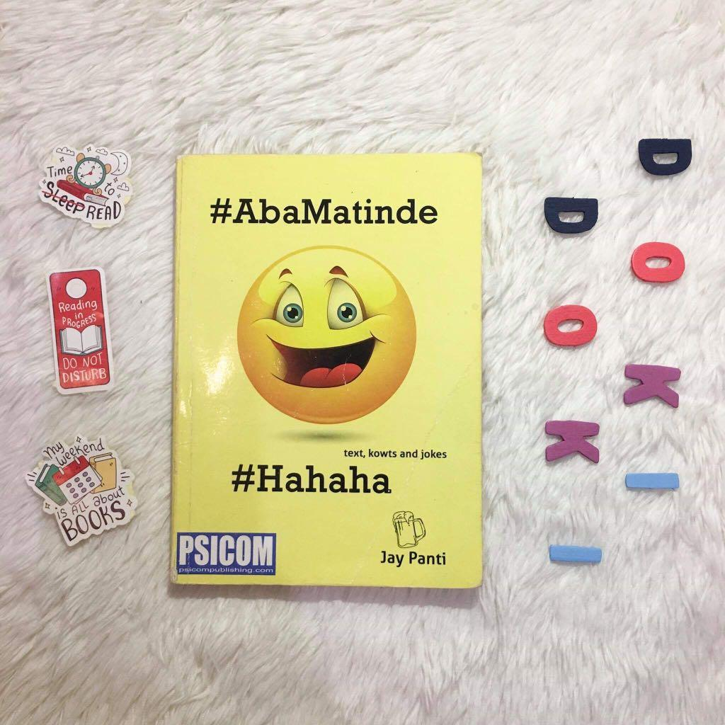 hugot, AbaMatinde, and hugotpamore (funny books by Jay Panti)