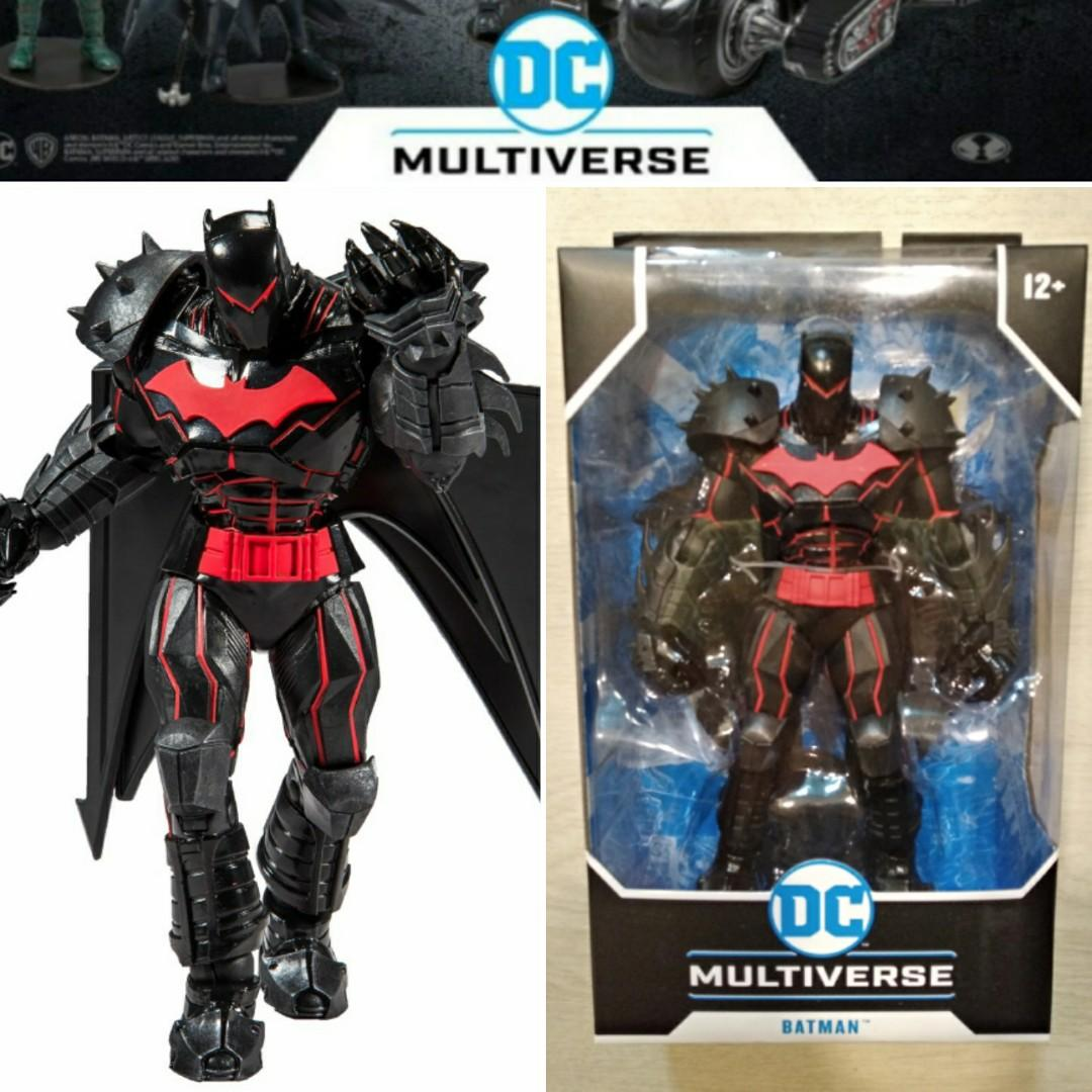 McFarlane Toys DC Multiverse Batman Hellbat Suit Action Figure IN STOCK!!