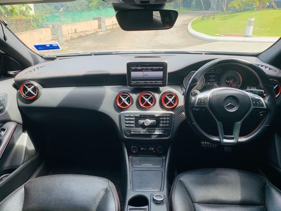 MERCEDES BENZ A250 AMG SPORT CONVERT BODYKIT A45 2013 / 2018