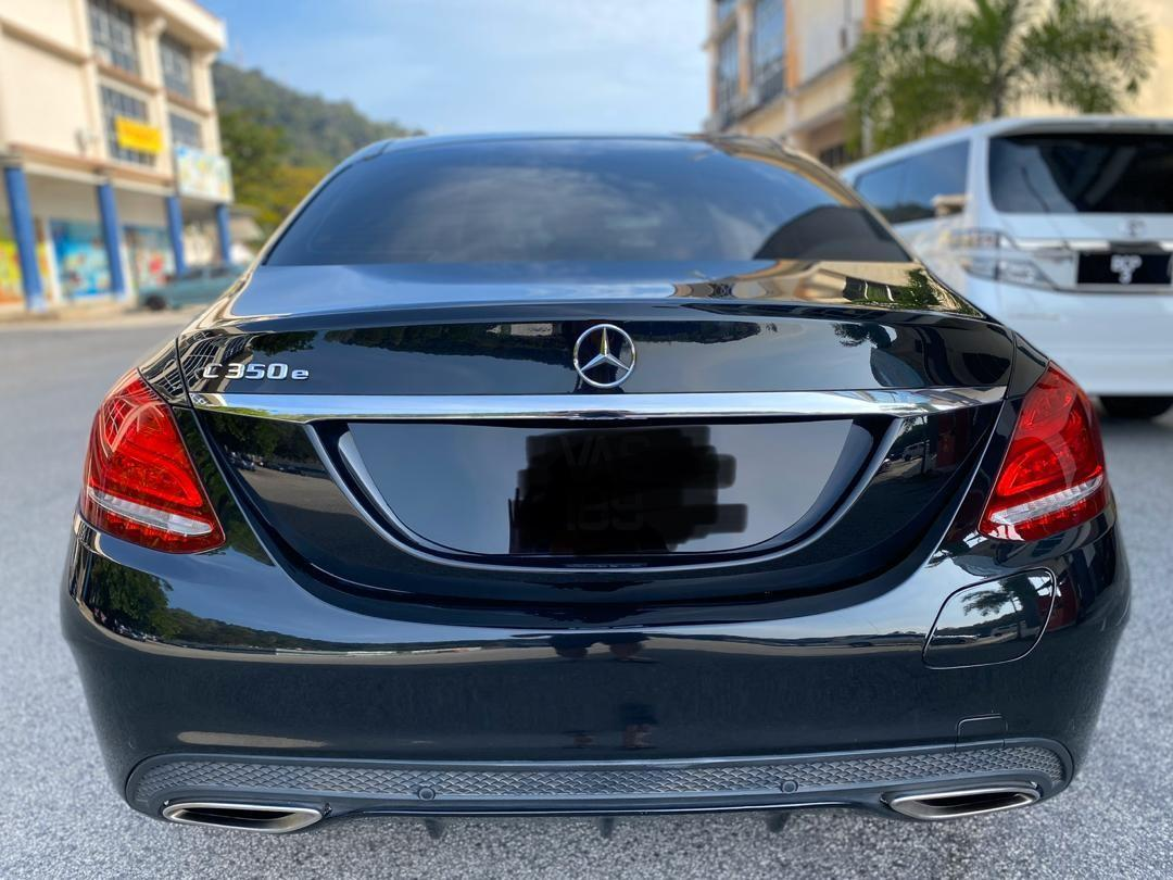 SEWA BELI BERDEPOSIT>>MERCEDES BENZ C350E  W205 2.0 TURBOCHARGED (A) AMG FULL SPEC 2017 26