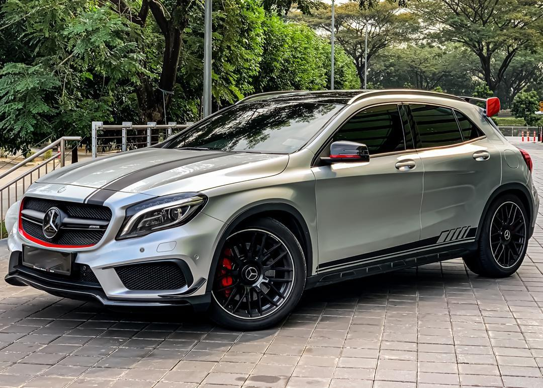 MERCEDES BENZ GLA 45 AMG 4 MATIC 2.0 TURBO (A) 2015/2019
