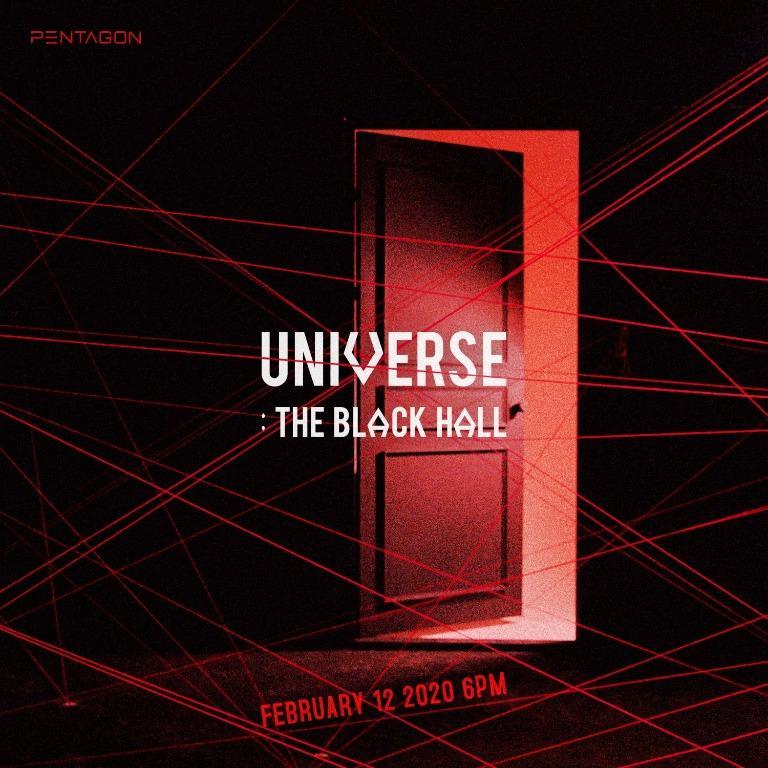 PENTAGON  1st Full Album  UNIVERSE : THE BLACK HALL