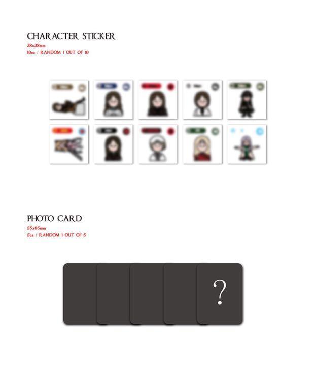 [PREORDER] MOON BYUL (Mamamoo) 2nd Solo Album - DARK SIDE OF THE MOON
