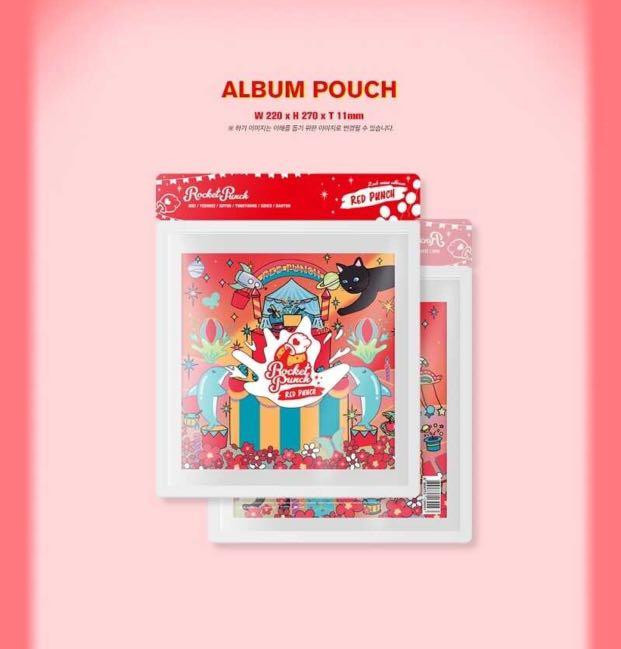 [PREORDER] ROCKET PUNCH 2nd Mini Album - [ RED PUNCH ]