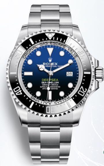 Rolex Deepsea Watch: Oystersteel Ref: M126660-0002 - Unworn Complete Set with Box and Papers