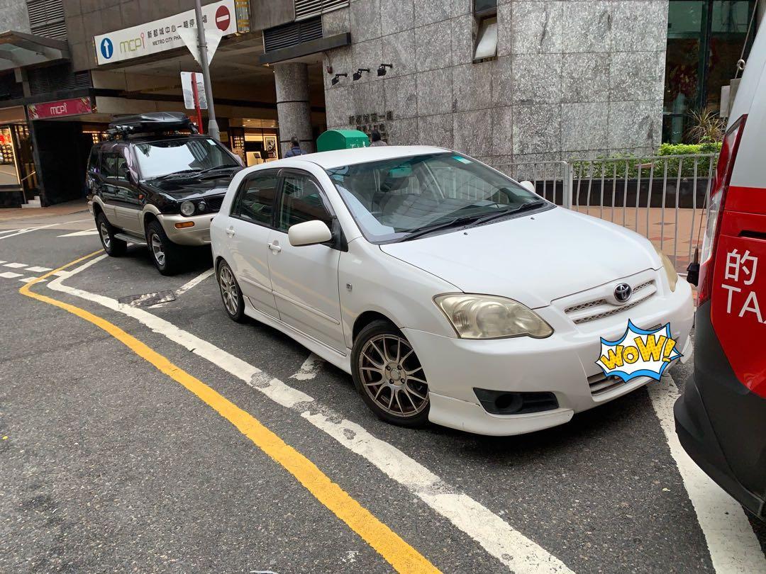Toyota Corolla RUNX TRD Manual