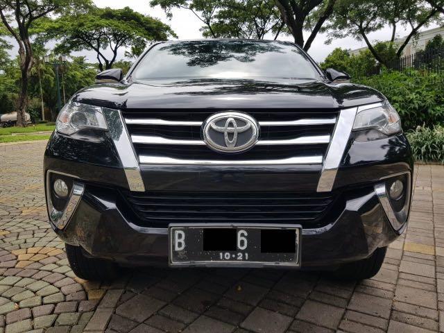 Toyota Fortuner G AT Diesel 4WD 2016,Penakluk Kerasnya Medan Petualangan