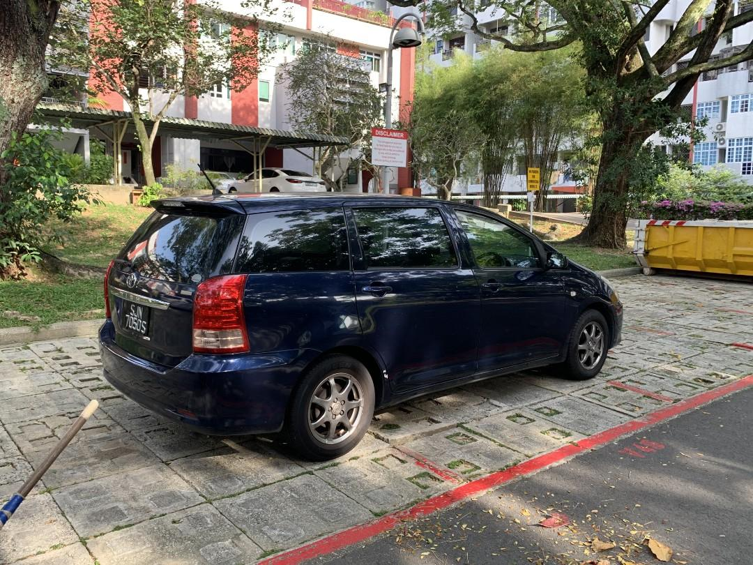 Toyota wish for rental PHV ready