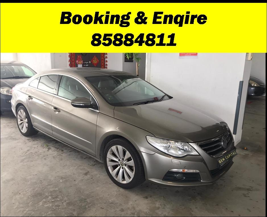 Volkswagen Passat JUST IN! LOWERED RATES w FEB SPECIAL PROMO! fuel efficient & spacious. Hurry whatsapp Edwin @87493898 now to reserve!!!