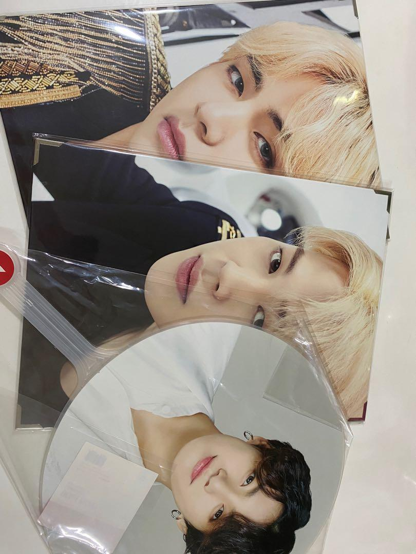 [WTS] BTS SPEAK YOURSELF FINAL TAEHYUNG JIMIN JUNGKOOK MERCH IMAGE PICKET PREMIUM PHOTO