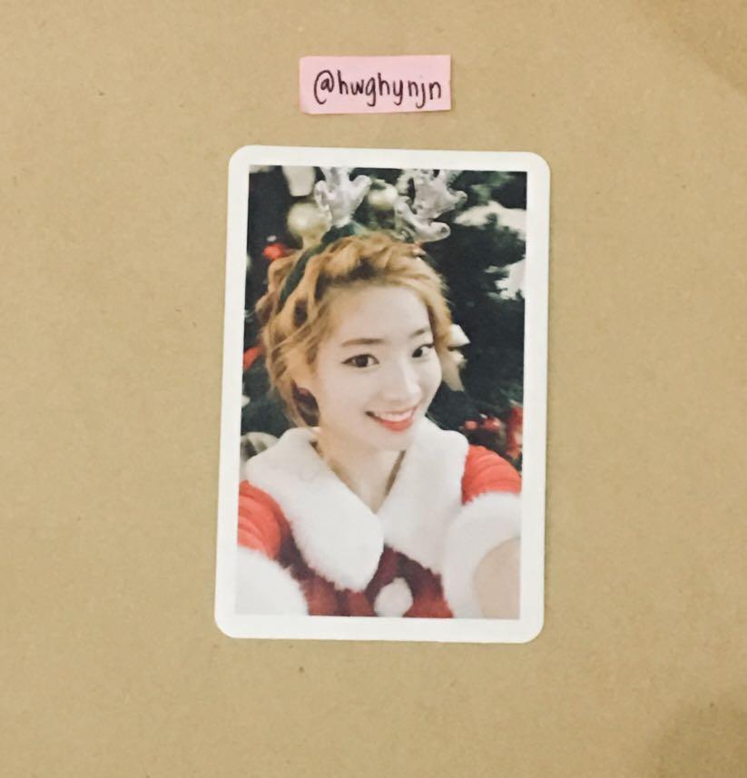 WTS Dahyun Christmas  Selfie photocard twicecoaster: lane 1