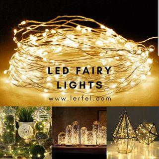 Valentine LED Fairy Lights - Battery Operated (10 metres)