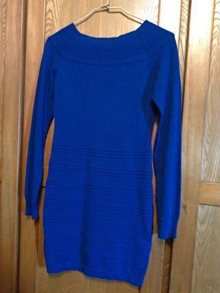 藍色裙裝 (包臀裙)近全新 #換季