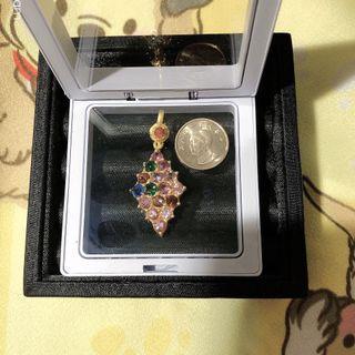 [珍寶石]緬甸天然寶石💎  彩色尖晶石  精品項鍊  隨時配帶  也可鑲嵌  僅現貨2件  不退