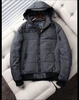 英國時尚名牌Blend 保暖合身風衣外套