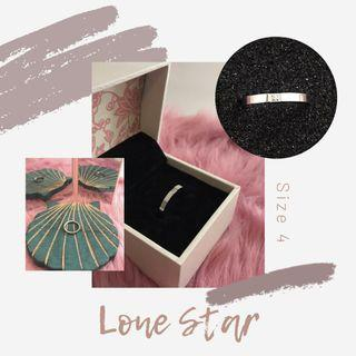 Lone Star, Silver - Size 4
