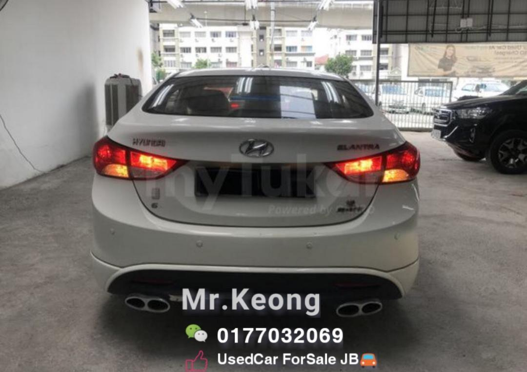 2014TH HYUNDAI ELANTRA 1.6AT Full Bodykit Loan🚨Monthly Rm510 Only💥  OfferPrice Rm39,800 Only🚨Welcome Cash Buyer🎉Interested Call 📞0177032069 Mr Keong Tan http://www.wasap.my/60177032069